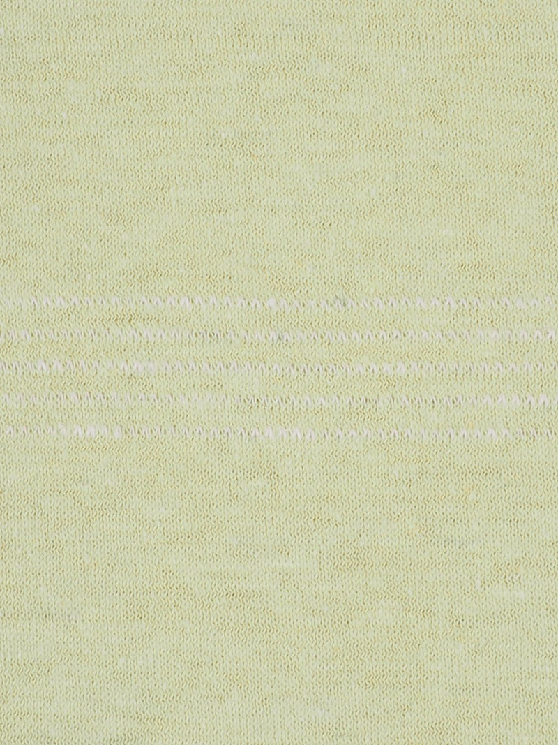 Hemp & Organic Cotton Light Weight Jacquard Jersey Fabric ( KJ21B847H Light Yellow Color ) - Hemp Fortex