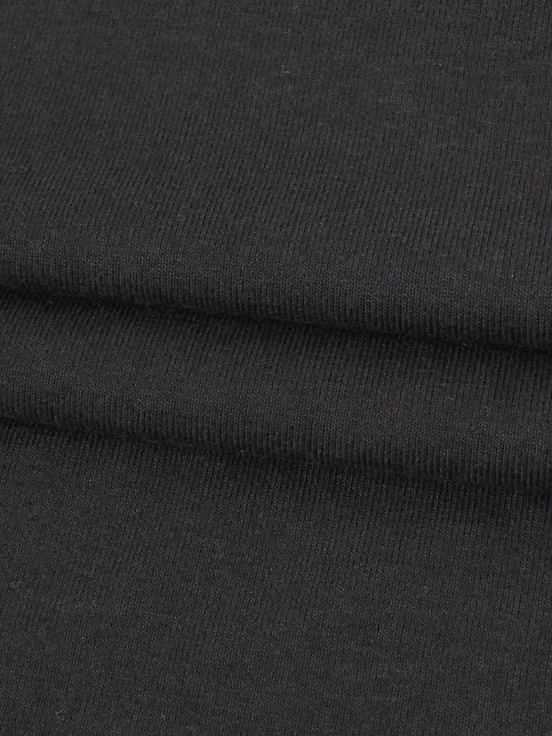 Organic Cotton & Bamboo Heavy Weight Stretch Yarn Dyed Jersey Fabric (KJ24B931)
