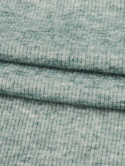 Hemp & Recycled Poly Mid-Weight Stretched Rib Fabric(KR70/2B896)