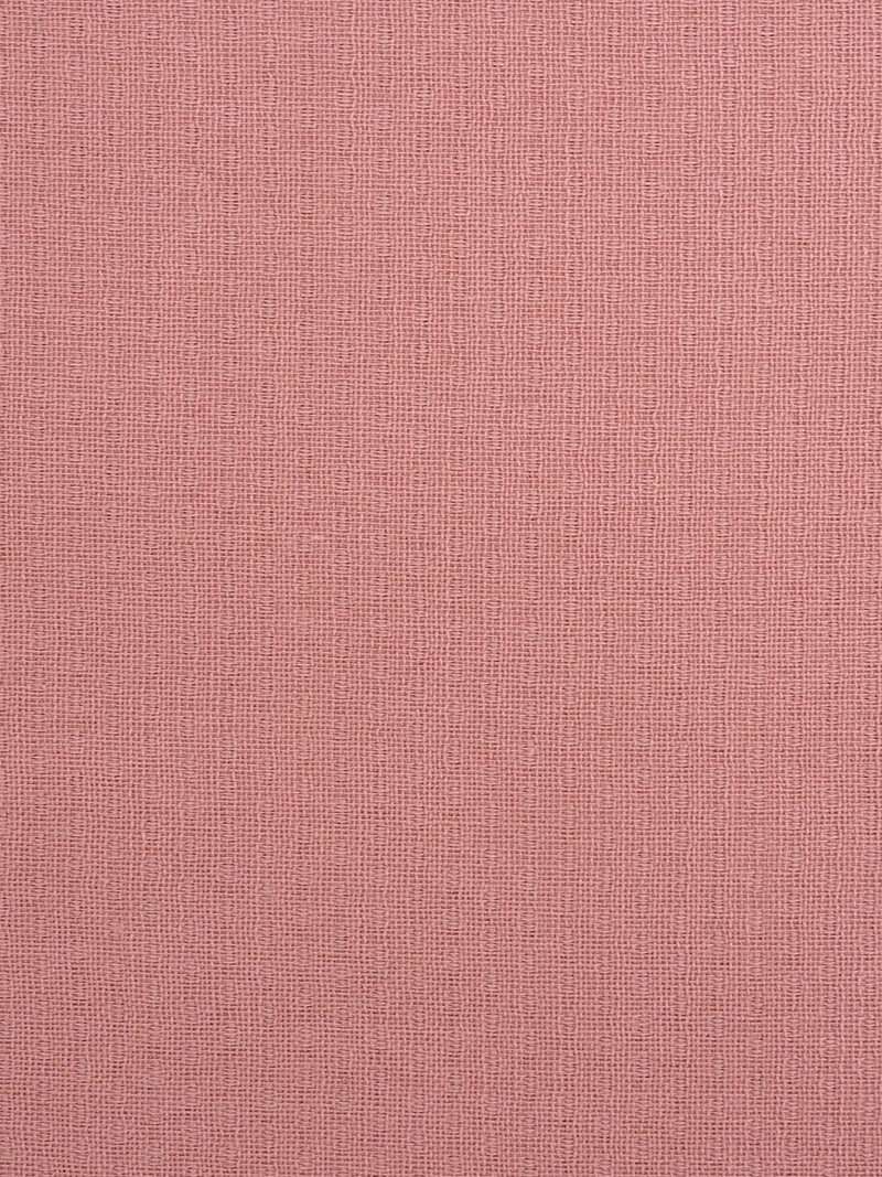 Pure Organic Cotton Light Weight Fabric ( OG14355 Russet Red Color )