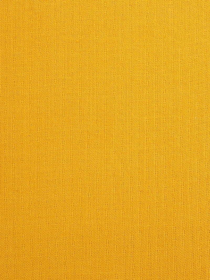 Pure Organic Cotton Light Weight Fabric ( OG14355 Yellow Color )