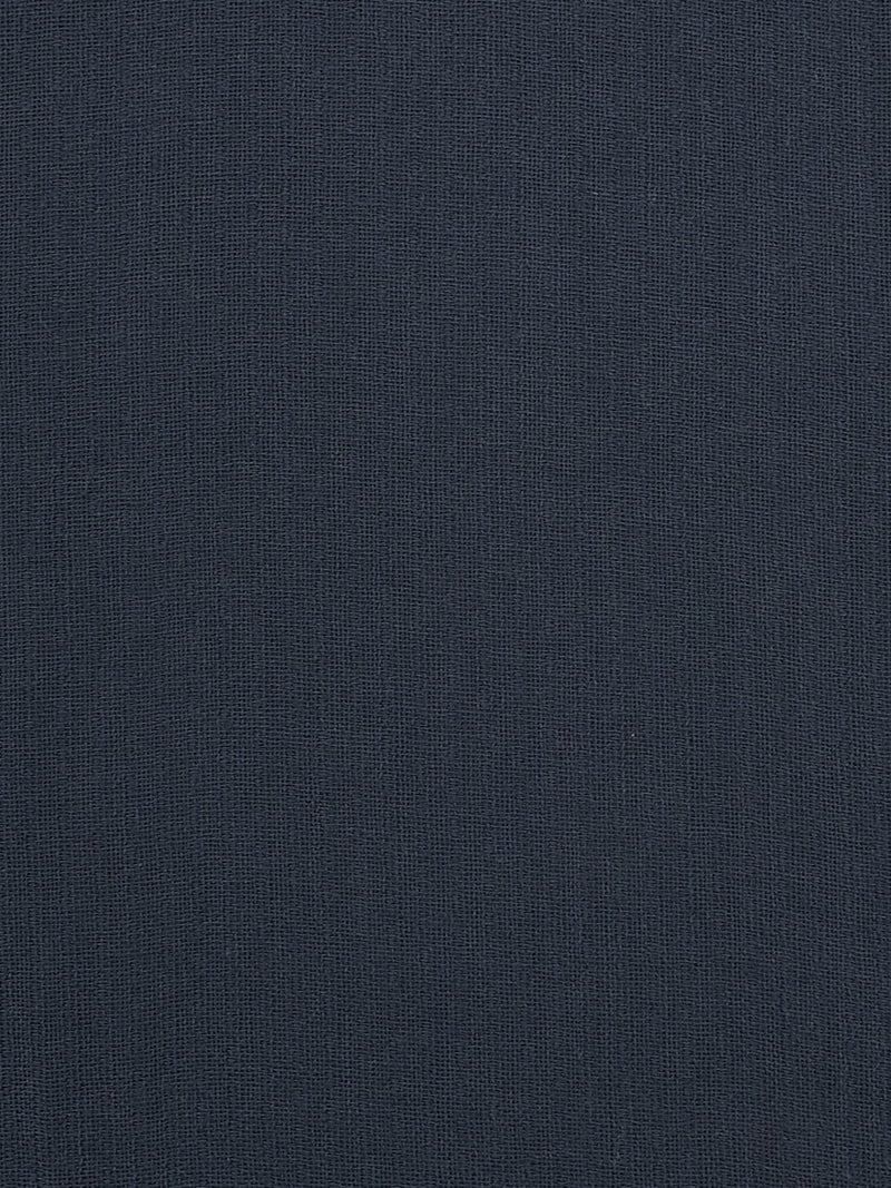 Pure Organic Cotton Light Weight Fabric ( OG14355 Navy Color )