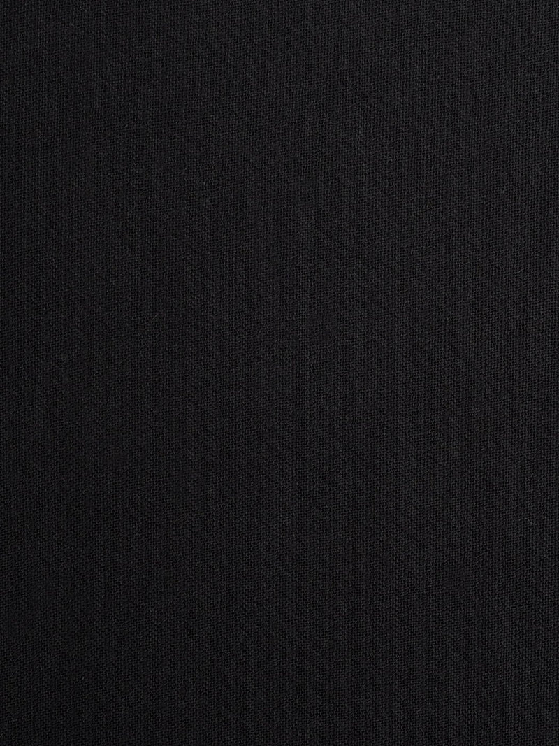 Pure Organic Cotton Light Weight Fabric ( OG14355 Black Color )