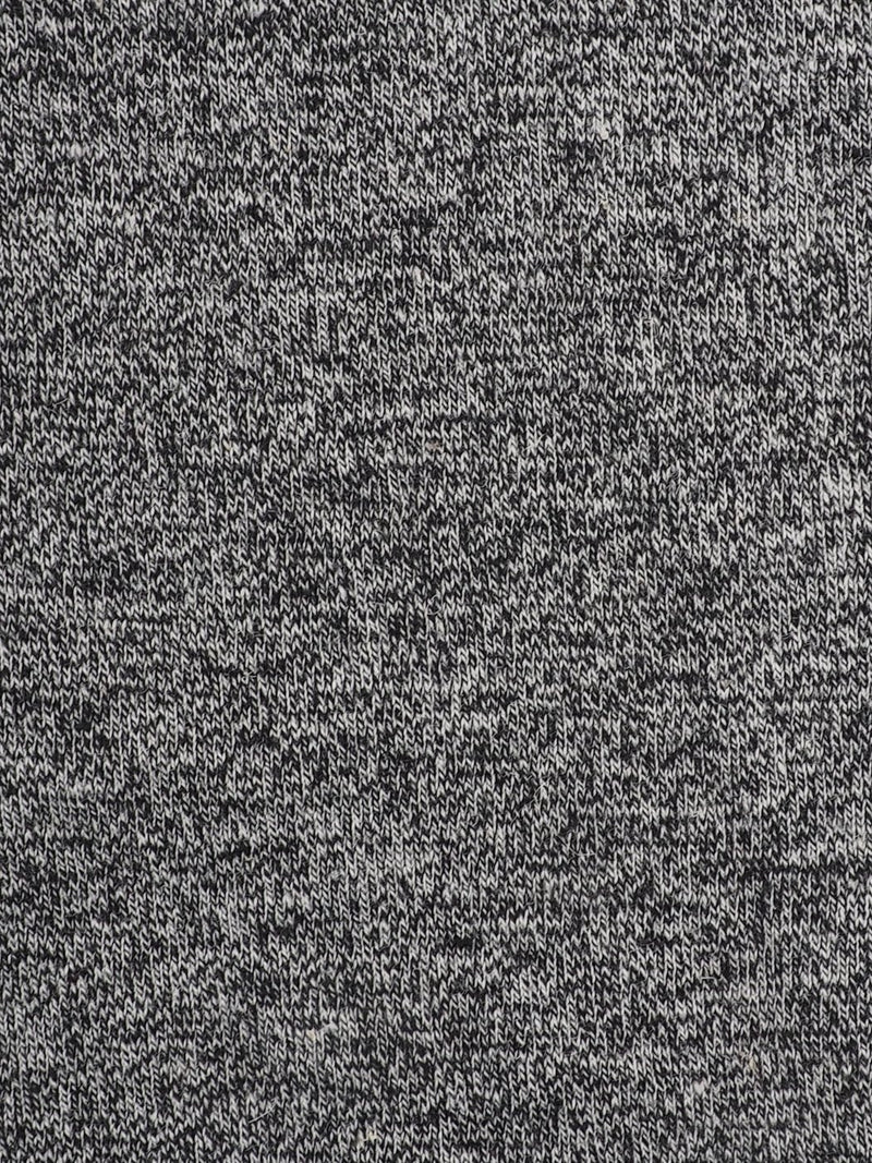 Hemp & Organic Cotton Mid-Weight Heather Jersey Fabric ( KJ40A1903-A38A Heather Grey ) - Hemp Fortex