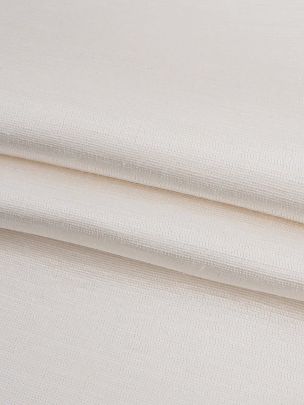 Hemp & Silk Light Weight Satin Fabric ( HS302 Natural White Color ) - Hemp Fortex