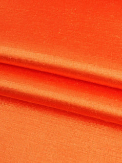 Hemp & Silk Light Weight Satin Fabric ( HS303 Orange Color ) - Hemp Fortex