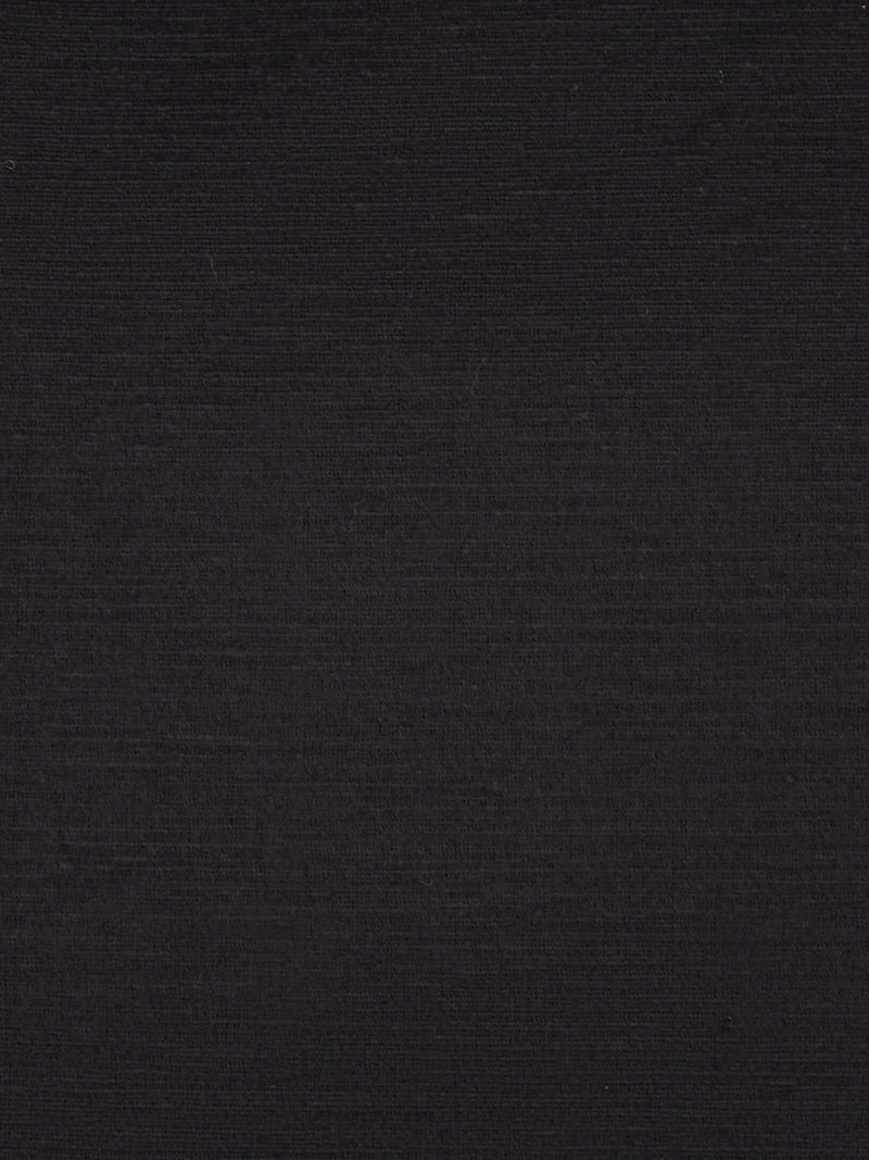 Hemp & Silk Light Weight Satin Fabric ( HS303 Black Color ) - Hemp Fortex