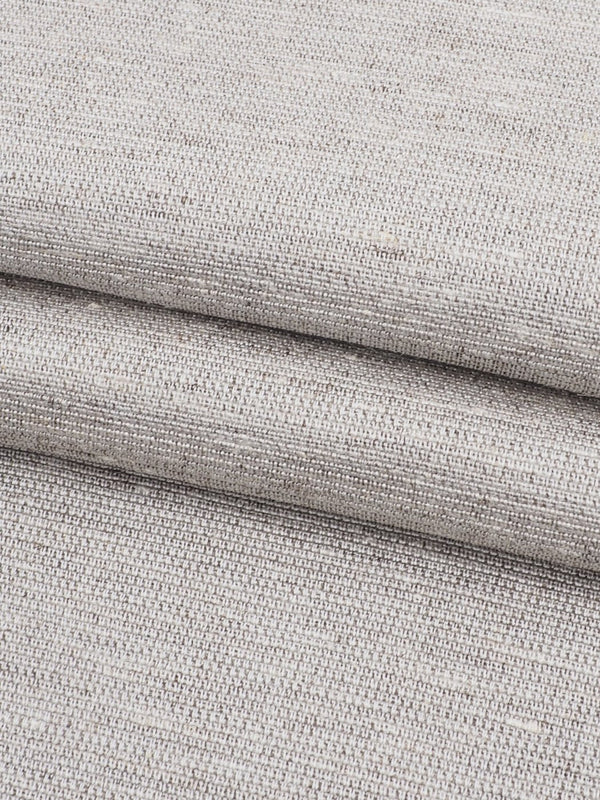 Hemp, Silk & Yak Light Weight Plain Fabric ( HS761 Natural White )
