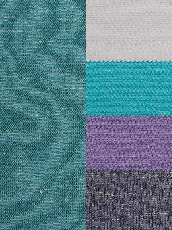 Hemp & Recycled Poly Light Weight Jersey Fabric ( KJ70/2B862 Four Colors Available  ) - Hemp Fortex