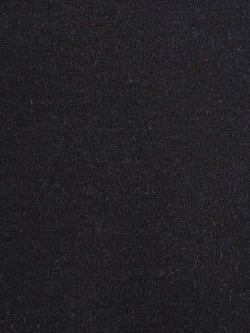 Hemp & Organic Cotton Heavy Weight Stretch Jersey Fabric(KJ2130 Black Color) - Hemp Fortex