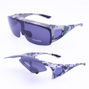 UV400 Polarized Army Color Camo Anti-slip outdoor Sport Sunglasses - Serac Sunglasses Online