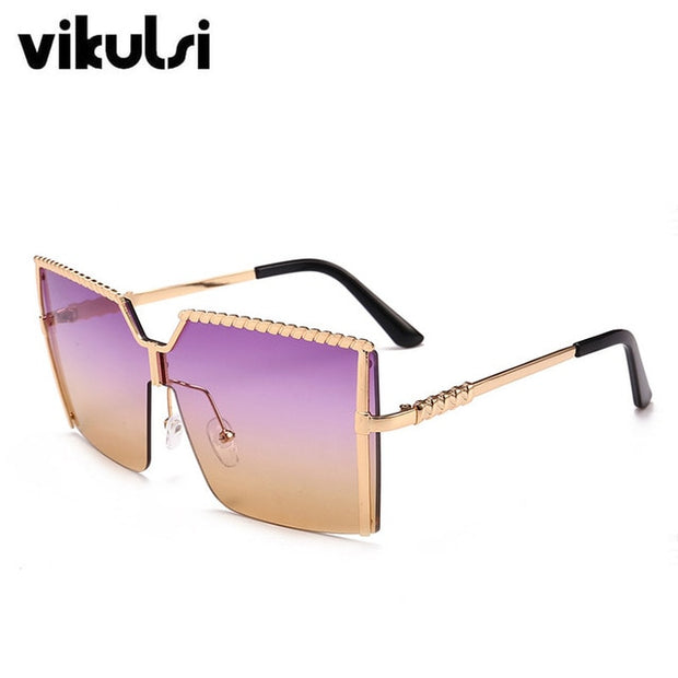 Unique Oversized One Piece Sunglasses UV400 - Serac Sunglasses Online