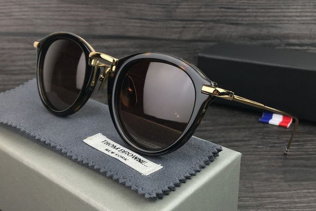 Vintage Round Sunglasses High Quality Sunglasses With Original Case - Serac Sunglasses Online