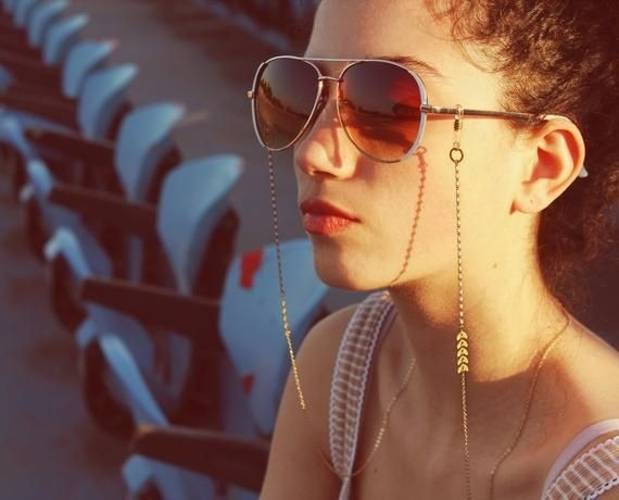Women Airplane Tassel beads - Serac Sunglasses Online