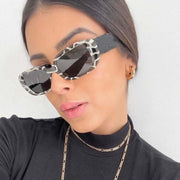 Zebra Pattern NYC Sunglasses