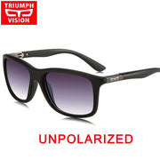 TRIUMPH VISION Square Driving Sunglasses Men Brand Design - Serac Sunglasses Online