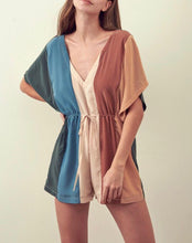 Nude Multi  Print Romper - Cocoa Couture Miami - Clothing Boutique