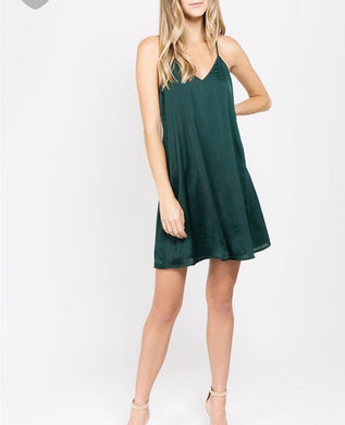 Green Tank Dress - Cocoa Couture Miami - Clothing Boutique