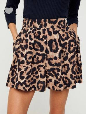 Leopard Shorts - Cocoa Couture Miami - Clothing Boutique