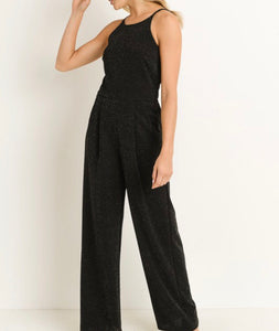 Black Sparkly Jumpsuit