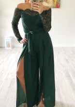 Green Lace Jumpsuit - Cocoa Couture Miami - Clothing Boutique