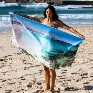 Bondi beach towel - Bondi Blues