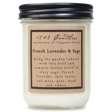 French Lavender and Sage Soy Candle
