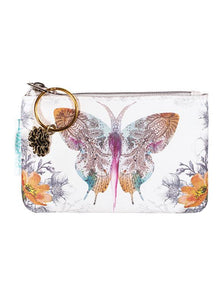 Paisley Butterfly Coin Purse