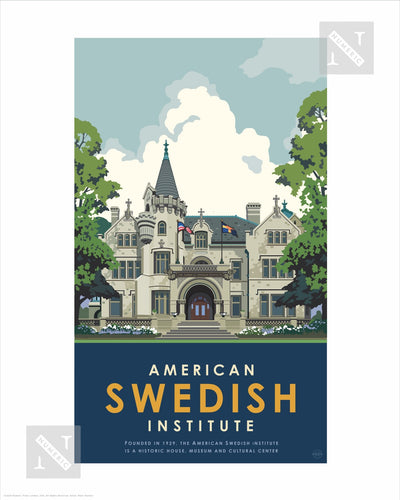 American Swedish Institute - Landmark Series Print