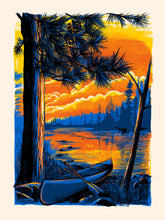 Boundary Waters Canoe Area Postcard