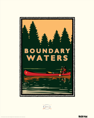 Boundary Waters - Landmark Series Card