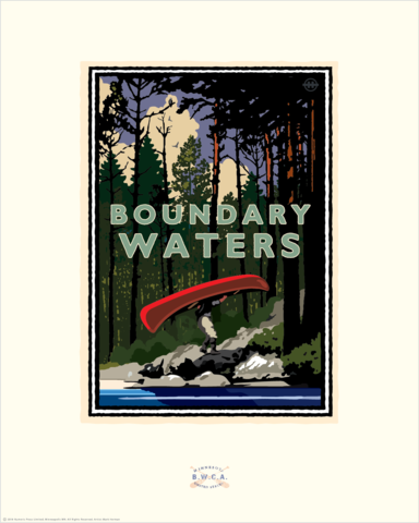 Boundary Waters Portage - Landmark Series Card