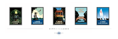 City of Lakes Collection - Print