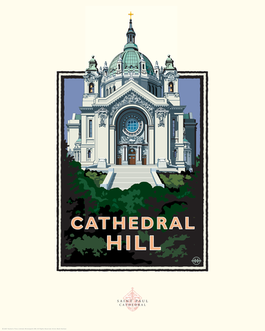 Cathedral Hill - Landmark Series Card