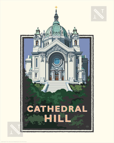 Cathedral Hill - Landmark Series Print