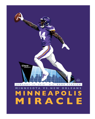 Minneapolis Miracle - Landmark Series Print