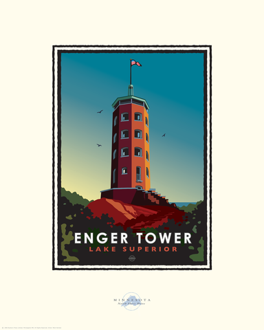 Enger Tower - Landmark Series Card