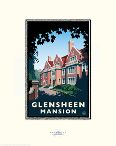 Glensheen Mansion - Landmark Series Card