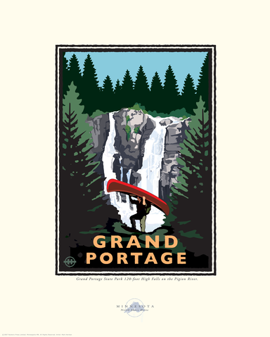 Grand Portage - Landmark Series Card