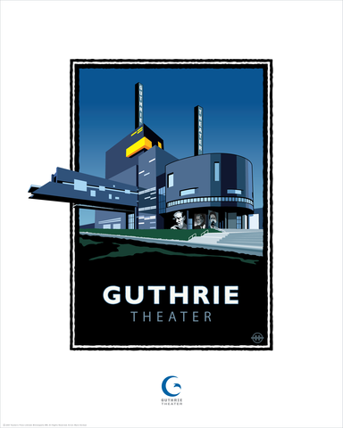 Guthrie Theater - Landmark Series Card