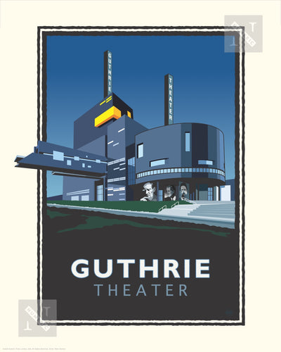 Guthrie Theater - Landmark Series Print