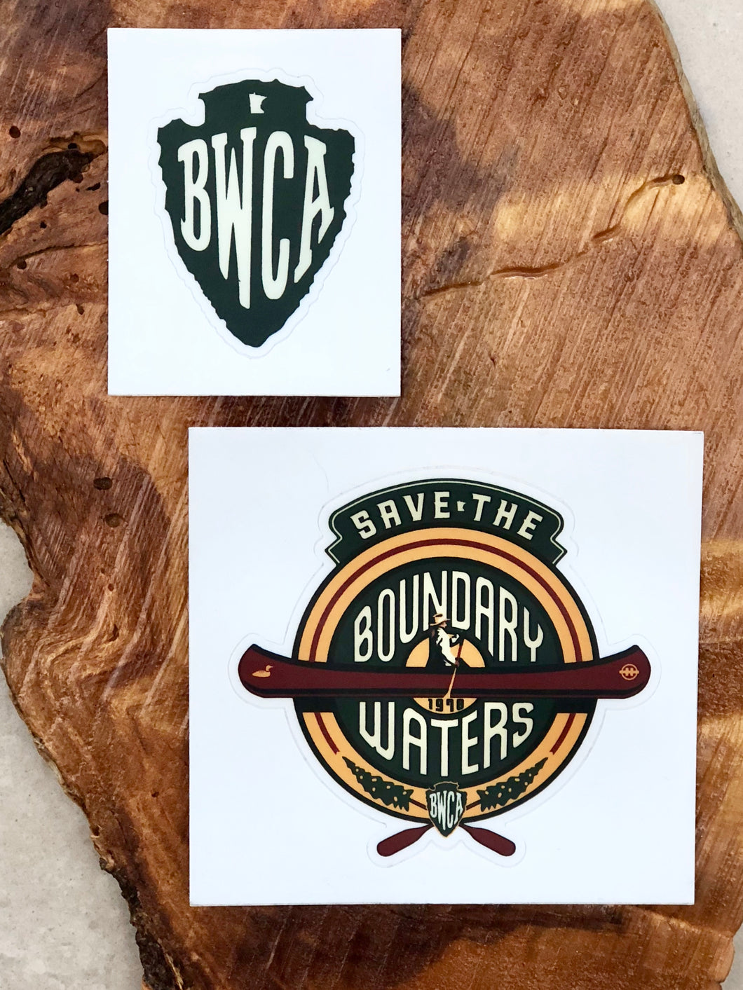 Save the Boundary Waters Sticker
