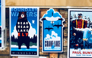 Crane Lake Sticker