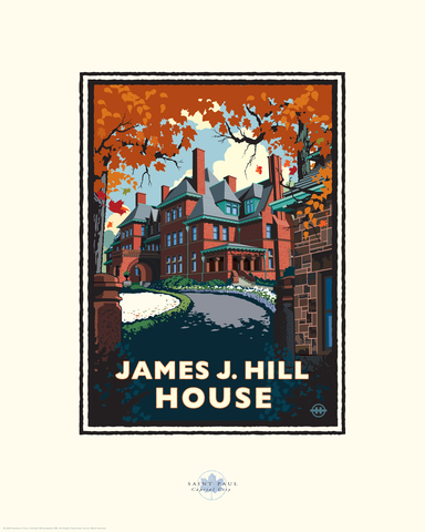 James J. Hill House - Landmark Series Card