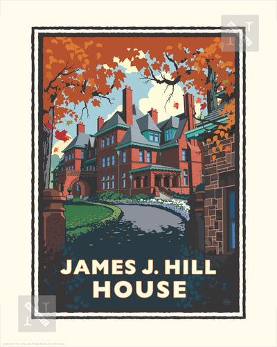 James J. Hill House - Landmark Series Print