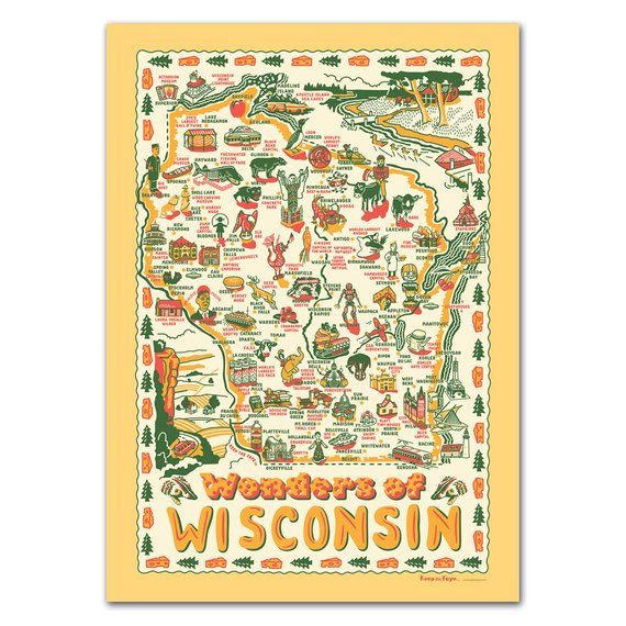 Wonders of Wisconsin Poster
