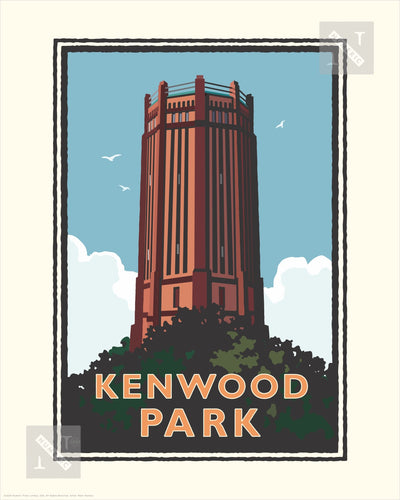 Kenwood Park - Landmark Series Print