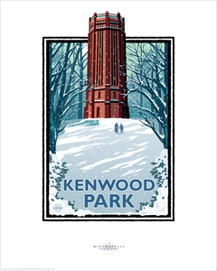 Kenwood Park Winter - Landmark Series Card