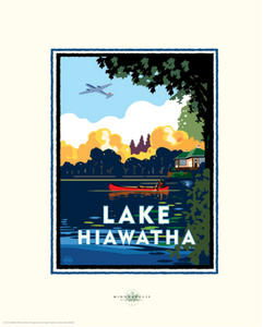 Lake Hiawatha - Landmark Landmark Series Card