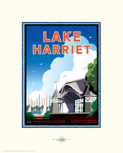 Lake Harriet Bandshell - Landmark Series Card